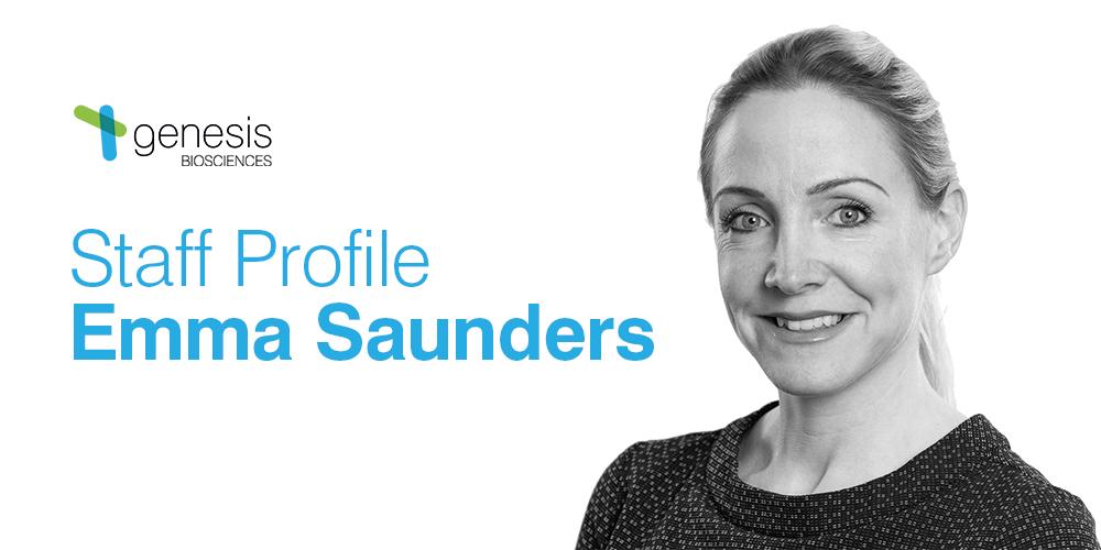 Staff Profile: Emma Saunders