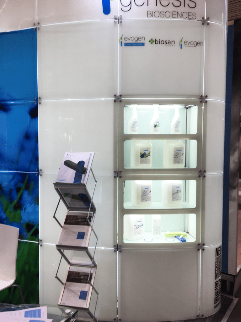 Genesis Biosciences at the ISSA tradeshow 2018 in Amsterdam