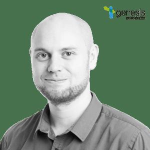 Dr. Chris Charles, Research Scientist at Genesis Biosciences