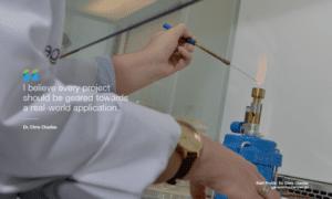 Dr. Chris Charles - Research Scientist at Genesis Biosciences - quote