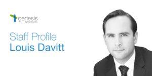 Louis Davitt, Fermentation Manager at Genesis Biosciences