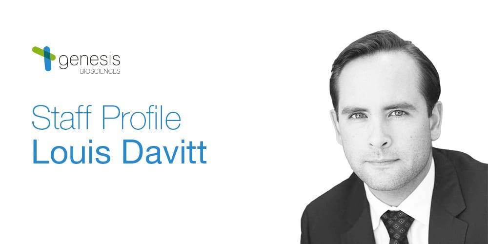 Staff Profile: Louis Davitt