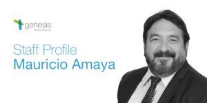 Mauricio Amaya, VP of Technical Services at Genesis Biosciences