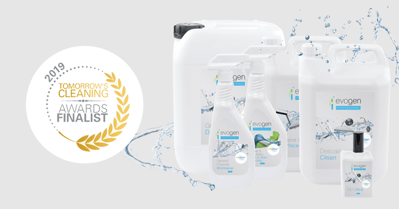 Tomorrow's Cleaning Awards 2019: Evogen Professional Shortlisted