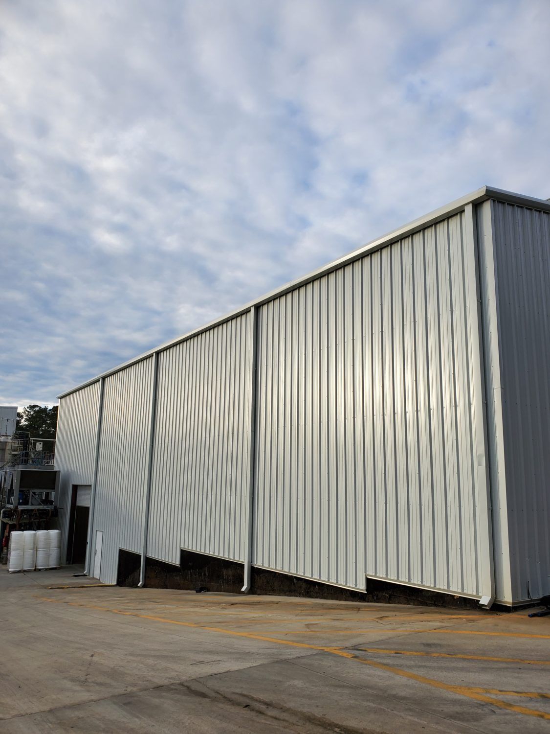 Customer update: We're mid-way through construction of our new in-house fermentation suite at our US facility [Part 2]