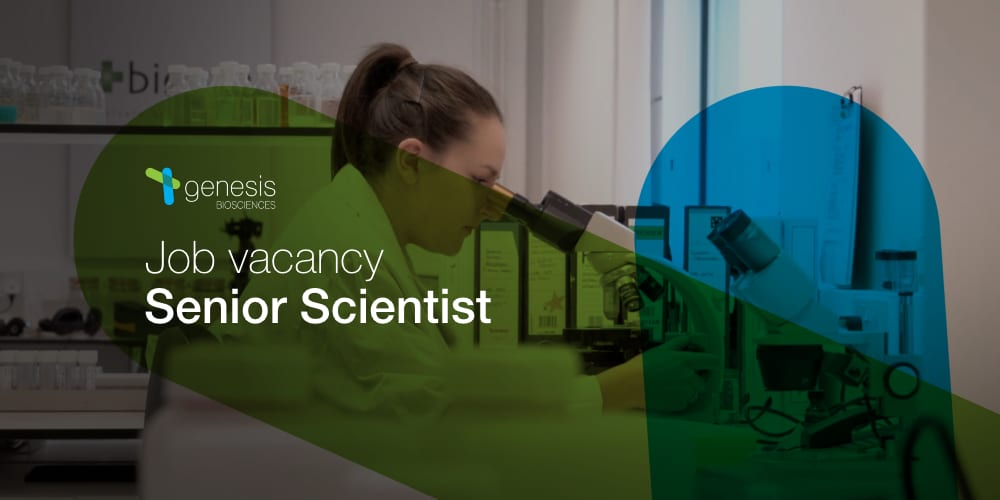 Job vacancy: Senior Scientist